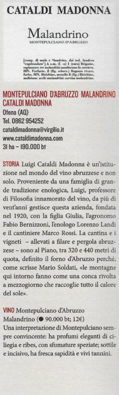 Cataldi Madonna Malandrino Etichette cult