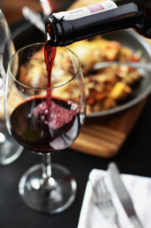 Restaurant wijn