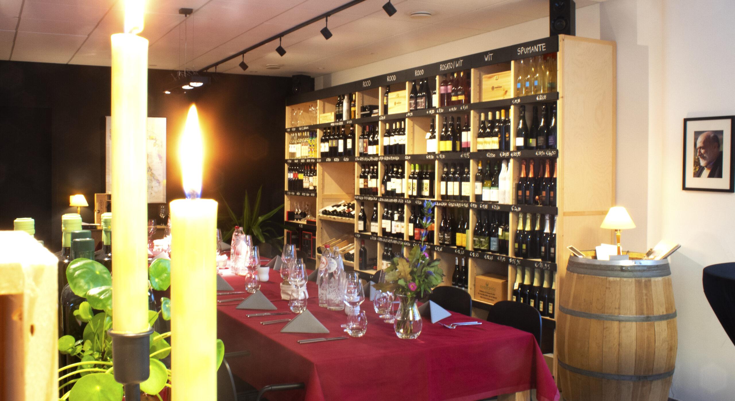 decanto foto evenement Italiaanse wijn