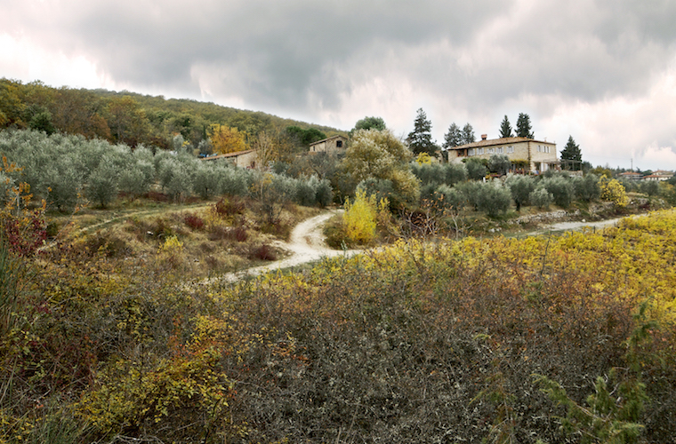 Val delle Corti vista dalla valle