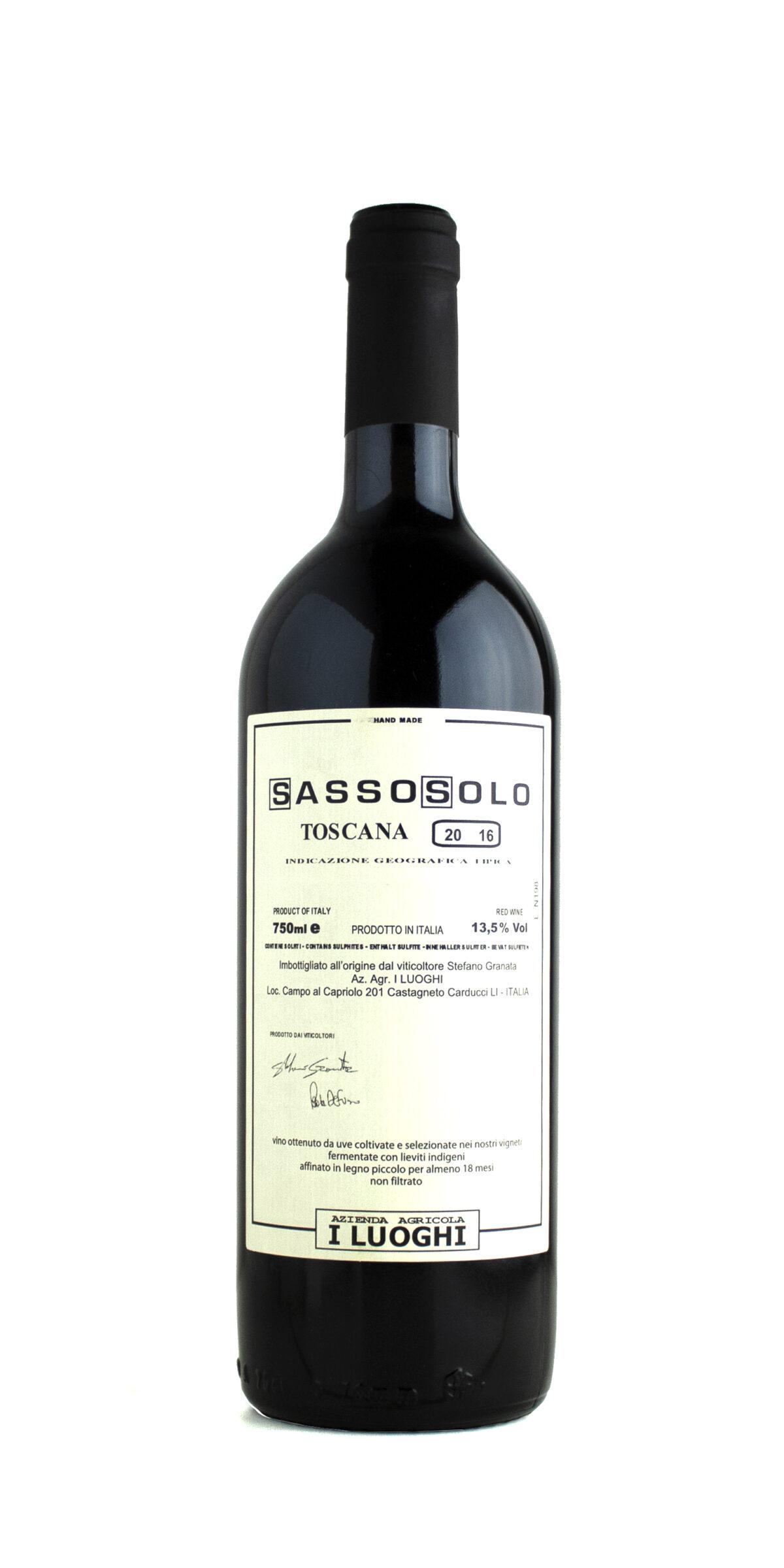 I Luoghi Sassosolo 2016
